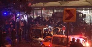Beşiktaştaki patlama görüntüleri