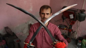 Bilal Erdoğan'a Özel Kılıç