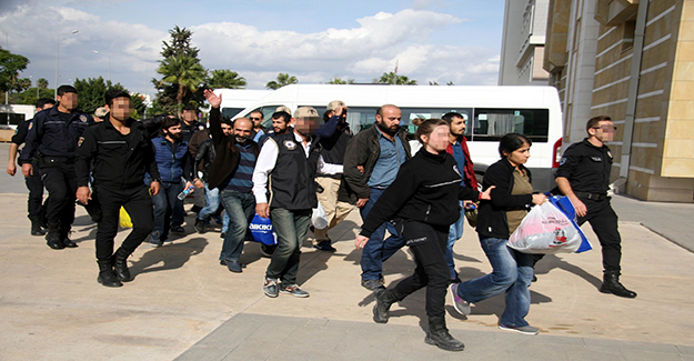 Antalya'da PKK/KCK operasyonuna 7 tutuklama