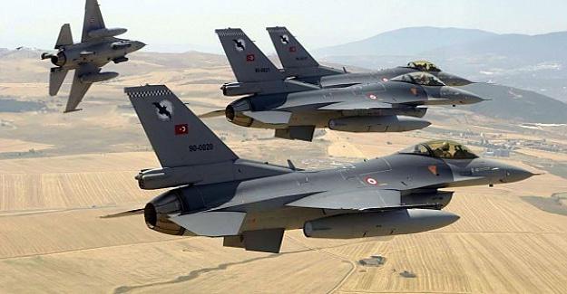 Türk savaş uçakları El-Bab'ta DEAŞ hedeflerini vurdu