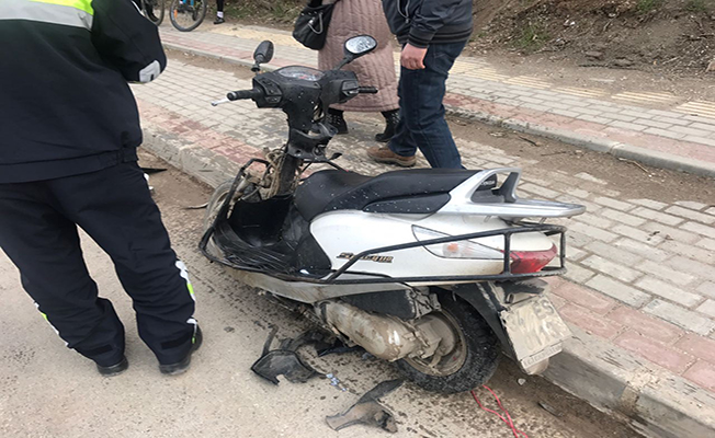 Bursa'da motosiklet kazası: 1 yaralı
