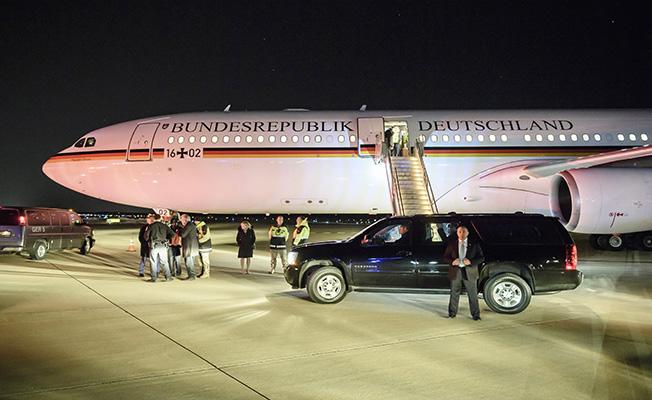 Merkel, Trump'la ilk kez yüz yüze görüşecek