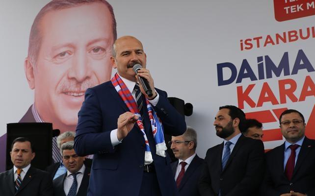 İçişleri Bakanı Süleyman Soylu İstanbul'da