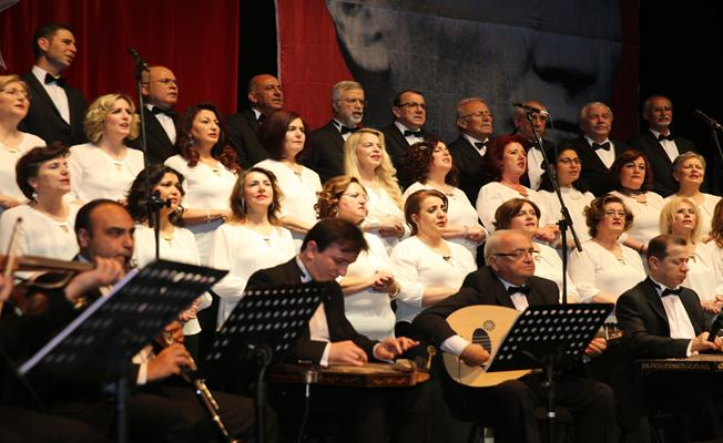 Nilüfer Türk Müziği Derneği Korosu mest etti
