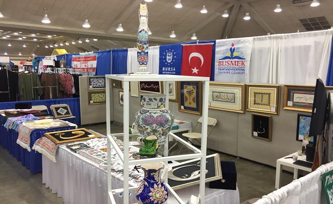 'Türk İslam Sanatları` BUSMEK ile Amerika`da
