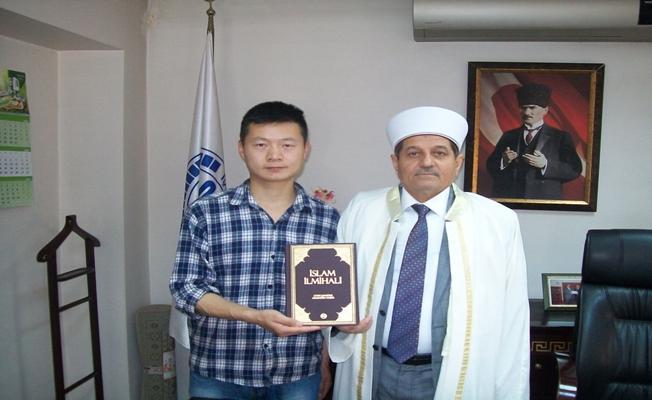 Çinli mühendis Müslüman oldu