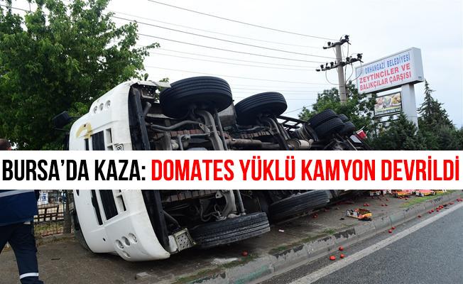 Bursa Orhangazi'de Trafik Kazası: 1 Yaralı