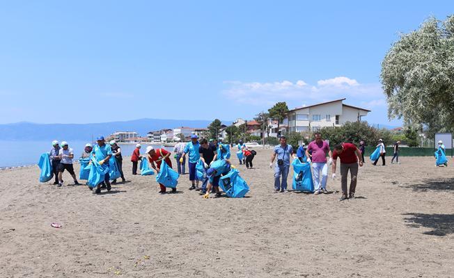 Temiz sahil seferberliği