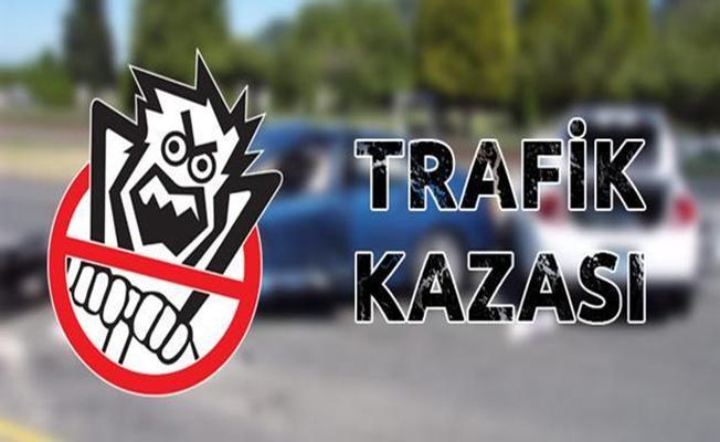 Bursa'da orhangazi'de 'trafik kazası: 1 yaralı