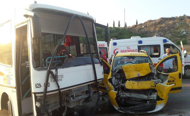 Bursa Gemlik'te Trafik Kazası: 6 Yaralı
