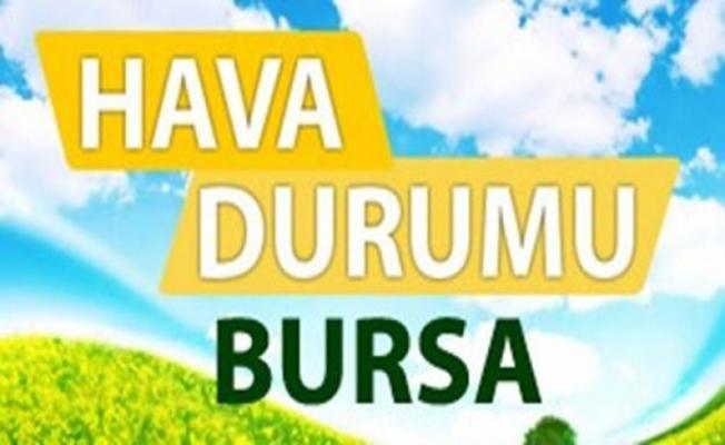 Bursada bugün hava nasıl olacak 30 temmuz 2017 pazar