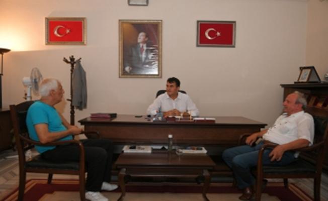 Alacahırkaspor Yönetimi Dündar'ı Ziyaret Etti