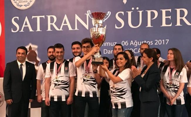 Beşiktaş Satrançta Bile Türkiye Şampiyonu Olmaya Hak Kazandı