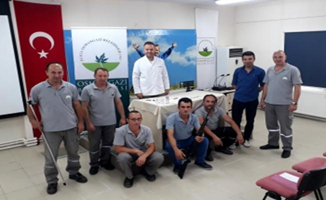 Osmangazi'de Kurbanlık Yakalama Timi Kuruldu