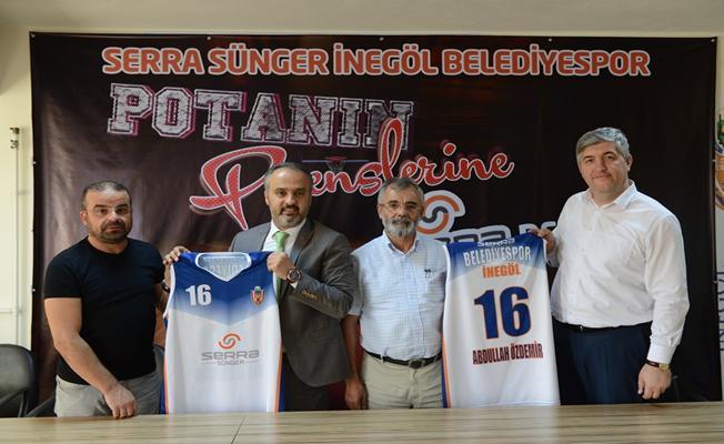 Belediyespor'un İsim ve Forma Sponsoru Serra Sünger Oldu