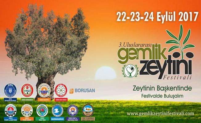 Gemlik Zeytin Festivali Başlıyor