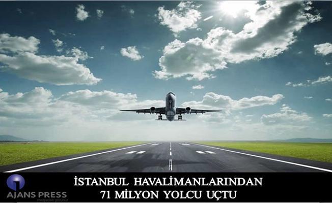 İstanbul Havalimanları 71 Milyon Yolcuyu Ağırladı