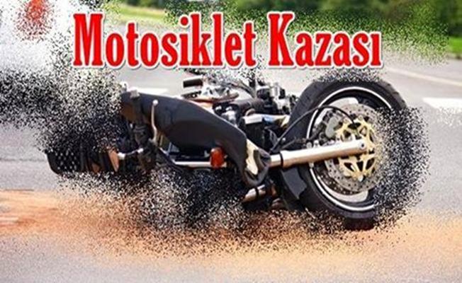 Motorsiklet Kazasında Ayağı Koptu