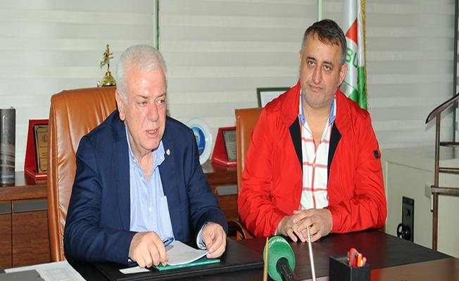 Acarhoroz İnşaat'tan Bursaspor'a Loca Desteği