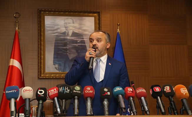 Bursa`nın Yeni Belediye Başkanı Alinur Aktaş Oldu
