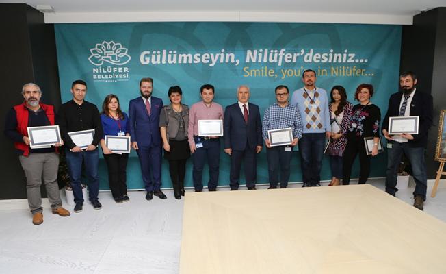 Başkan Bozbey'den öneri veren personele ödül