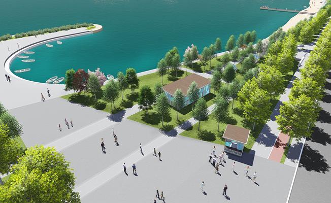 Bursa'ya Yeni Sahil Şeridi Geliyor