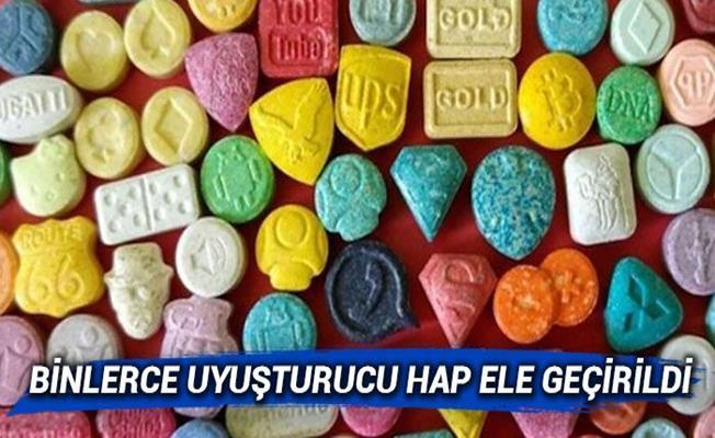 Bursa'da Extacy Operasyonu: 6 Bin Adet Ele Geçirildi!