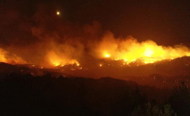 Bursa Osmangazi'de Çıkan Yangın Korkuttu!