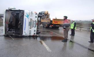 Bursa'da Yolcu Minibüsü Kazası