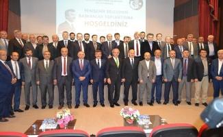 Başkanlar Yenişehir'de buluştu