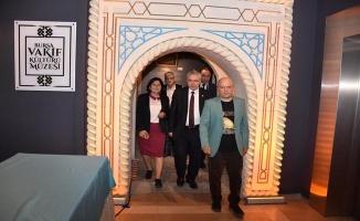 Bursa Vakıf Kültürü Müzesi`nde Uğurluel ile tarihi yolculuk