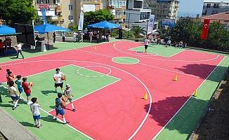 Mudanya Belediyesi Basketbol Yaz Okulu Açıldı