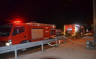 Mudanya Yıldıztepe'de Yangın