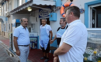 Başkan Hayri Türkyılmaz, Mahalle Ziyaretlerinde