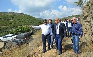 İznik Barajında Çalışmalar Başladı