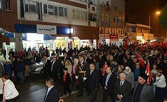 Cumhuriyet Coşkusu İnegöl'de Sokaklara Sığmadı