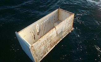 Bursa#039;da Denizden Buzdolabı Çıktı