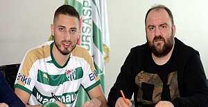 Bursaspor Gheorghe Grozav ile 6 Aylık Sözleşme İmzaladı