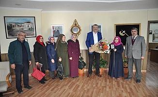 Eğitim Camiası Ali Özkan'a Minnettar