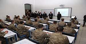 Komutanların okulunda eğitim yeniden başladı