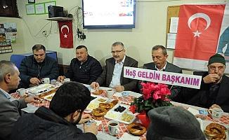 'Mobil Başkan' Özkan, vatandaş buluşmalarında hız kesmiyor