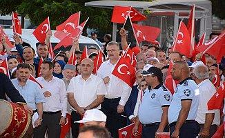 Karacabey'de binlerce kişi Mehmetçik için yürüyecek