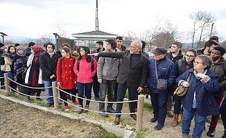 Nilüfer Belediyesi Kent Bostanları'nda organik tarım uygulaması yapıldı
