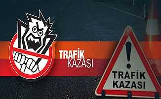 Bursa'daki Zincirleme Kazada İki Aracın Arasını Sıkıştı
