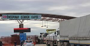 BM yardım konvoyu Suriye'ye geçiş yaptı