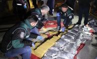 İran'dan gelen tırda, 9 milyon değerinde 115 kilo eroin yakalandı