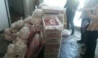 Balıkesir'de 590 kilogram kaçak et ele geçirildi