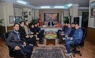 AK Gençlerden Ali Özkan'a Ziyaret