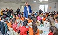 Karacabey'de 'Başkanımla okuyorum' etkinlikleri kırsal mahallelerde
