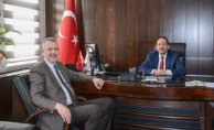 Tarım İl Müdürü Yıldız'a Ali Özkan'dan Ziyaret